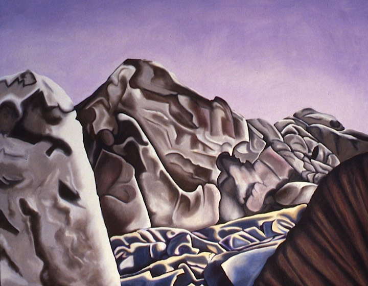 ©1987 Jan Aronson Sinai #10 Oil on Canvas 32x40