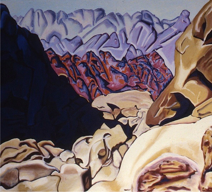 ©1987 Jan Aronson Sinai #7 Oil on Canvas 28 x 32