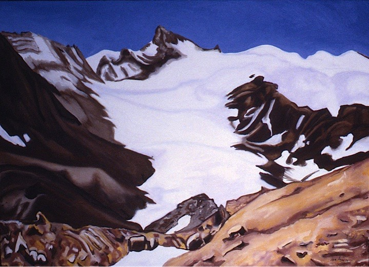 ©1988 Jan Aronson Kangi-Lai Oil on Canvas