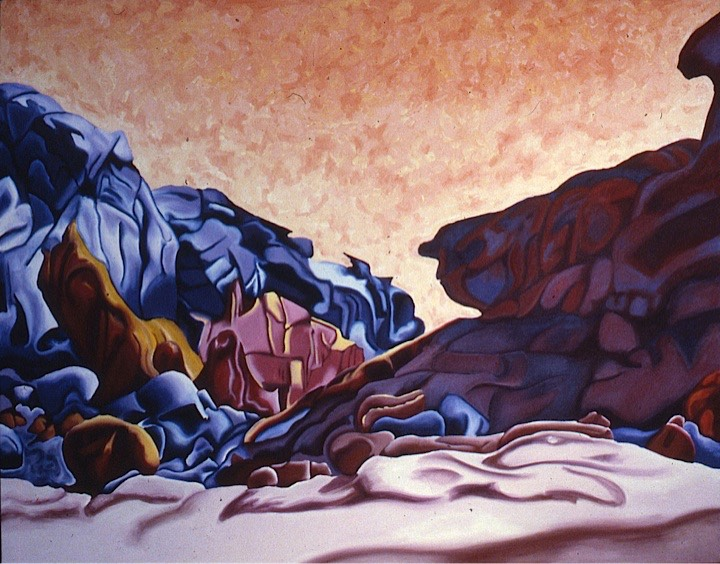 ©1988 Jan Aronson Sinai #12 Oil on Canvas 36 x 46