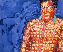 ©1989 Jan Aronson Portrait of Edgar Oil on Canvas 32x36