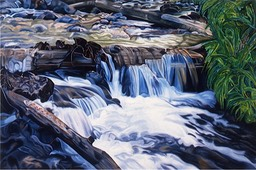 ©1994 Jan Aronson Fourth of July Creek #5 Oil on Canvas 40x60