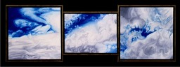 ©1999 Jan Aronson Cloud Triptych #31 Oil On Canvas 17x51.jpg