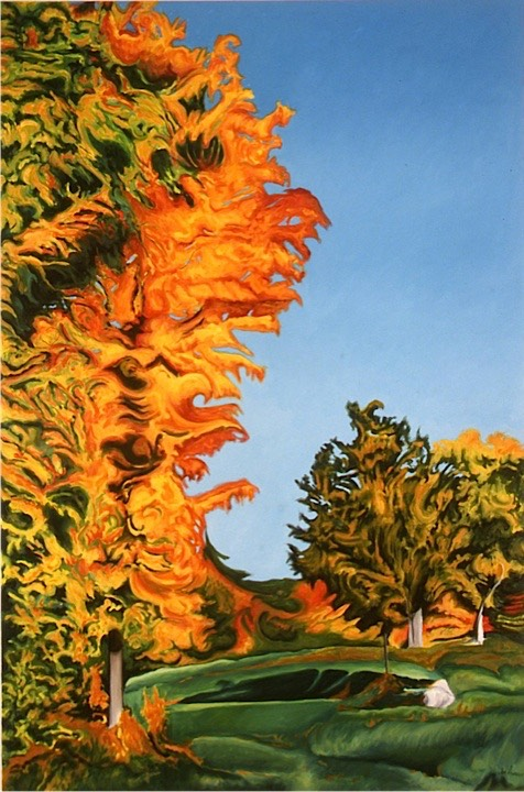 ©1999 Jan Aronson Vermont #11 Oil on Canvas 42x28.jpg