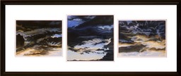 ©2000 Jan Aronson Cloud Triptych #34 Pastel on Paper 23x54