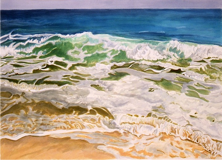 ©2001 Jan Aronson Anguilla #10 Watercolor & Gouache 16x24