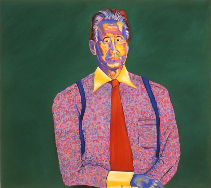 ©2001 Jan Aronson Portrait of Peter Oil on Canvas 32x36