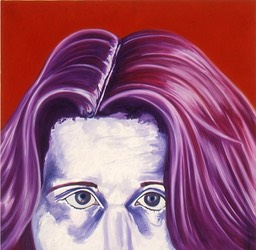 ©2004 Jan Aronson Self Portrait #4 Oil on Canvas 24x24