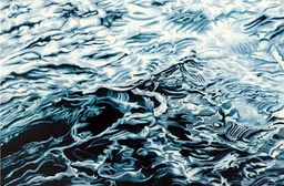 ©2007 Jan Aronson Water Series #2 Oil on Canvas 28x42 SOLD