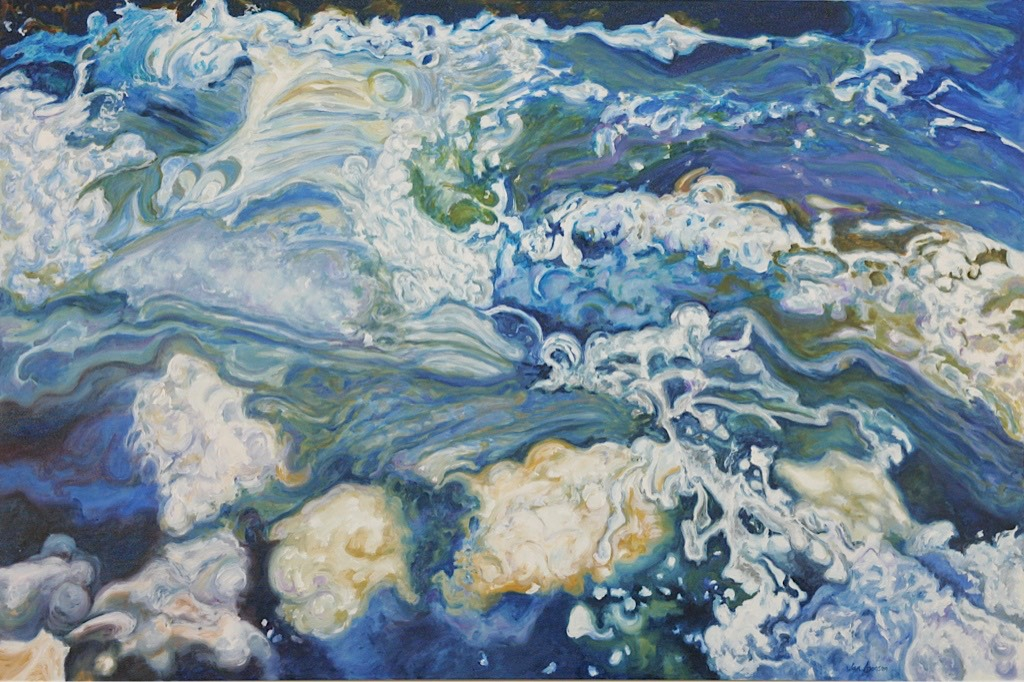 ©2009 Jan Aronson Water Series #24 Oil on Canvas 28x42
