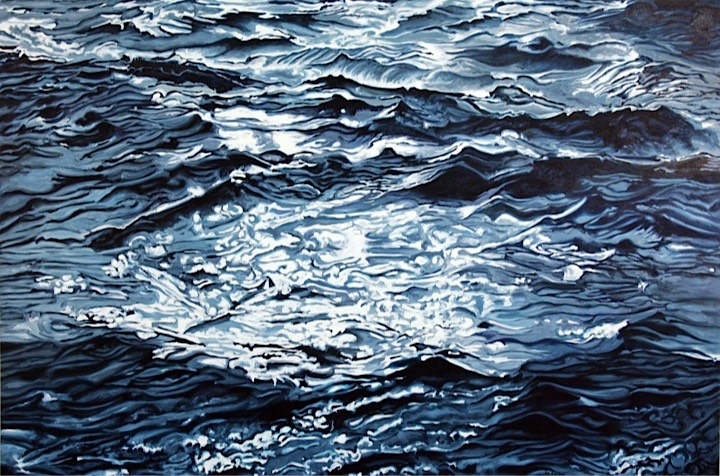 ©2009 Jan Aronson Water Series #26 Oil on Canvas 40x60