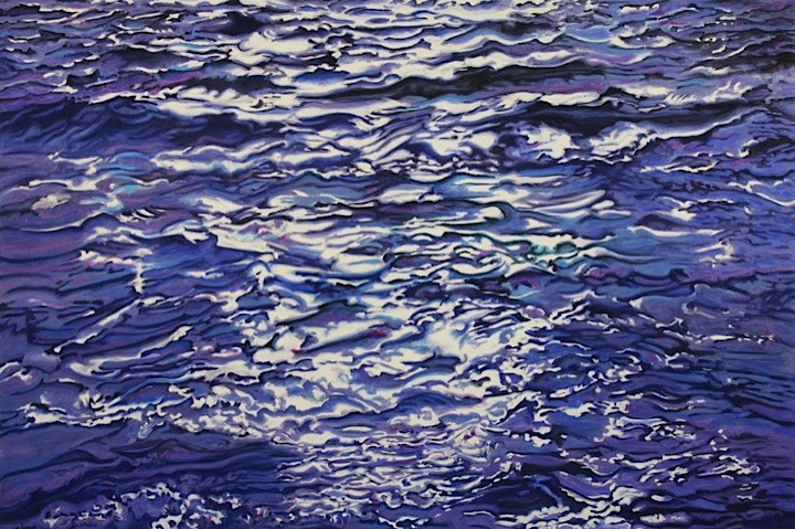 ©2010 Jan Aronson Water Series #32 Oil on Canvas 40x60SOLD