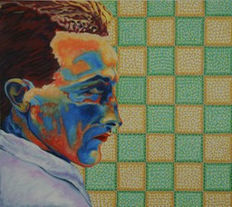 © 2012 Jan Aronson - Marcel, Oil on Canvas, 32x36