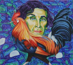 © 2014 Jan Aronson - Chagall, Oil on Canvas, 32x36
